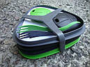 Набор посуды LIGHT MY FIRE Pack'n Eat Kit (8 предметов), зеленый/черный, фото 2