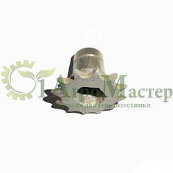 Звездочка 24 зубка привода ротора анодированные SK 12-07.00.002
