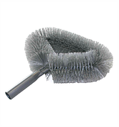 5032 Щетка для снятия паутины круглая с резьбой