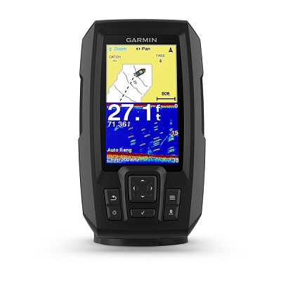 Ехолот GPS-Плоттер Garmin Striker Plus 4 with Dual Beam Transduser