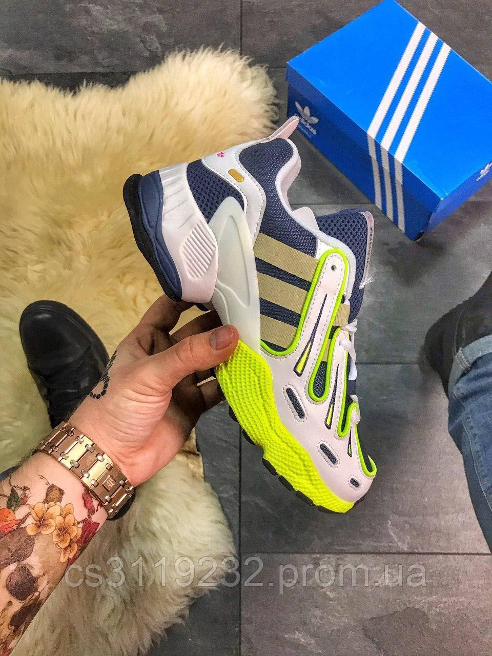 Мужские кроссовки Adidas EQT Gazelle Collegiate Navy White Gold