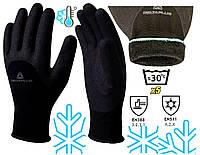 Перчатки Зимние морозостойкие Рыбалка работа с водой маслами -30 очень теплые и прочные Hercule VV 750 для