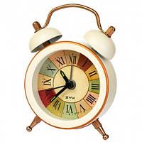 """Часы-будильник """"Яркая жизнь"""" (7.5*5.5*1.5 см) *рандомный выбор дизайна, 0056JA"""
