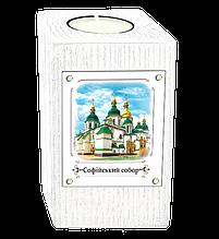 """Эко-подсвечник. м.Київ. """"Софійський собор"""""""