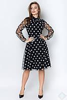 Платье Шерри крупный горох, фото 1