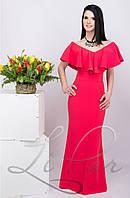 Женское вечернее платье в пол Lipar Красное