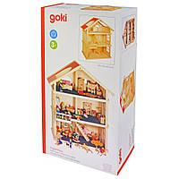 Игровой набор Goki Кукольный домик 3 этажа (51957), фото 1