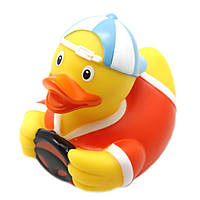 Игрушка для ванной LiLaLu Автомобилист утка (L1826), фото 1