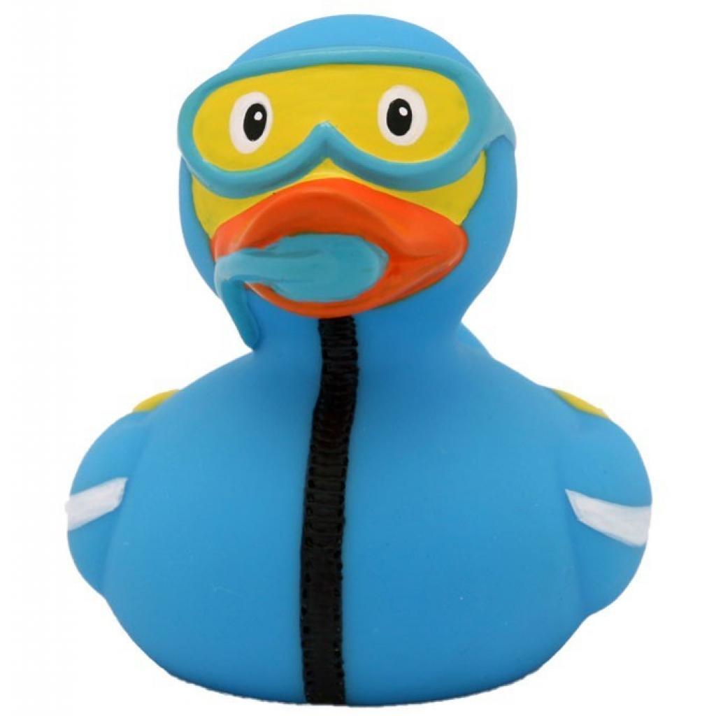 Игрушка для ванной LiLaLu Аквалангист утка (L1863)
