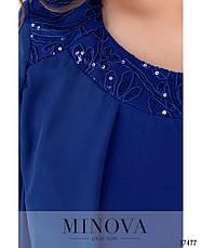 Платье женское нарядное батал, фото 3