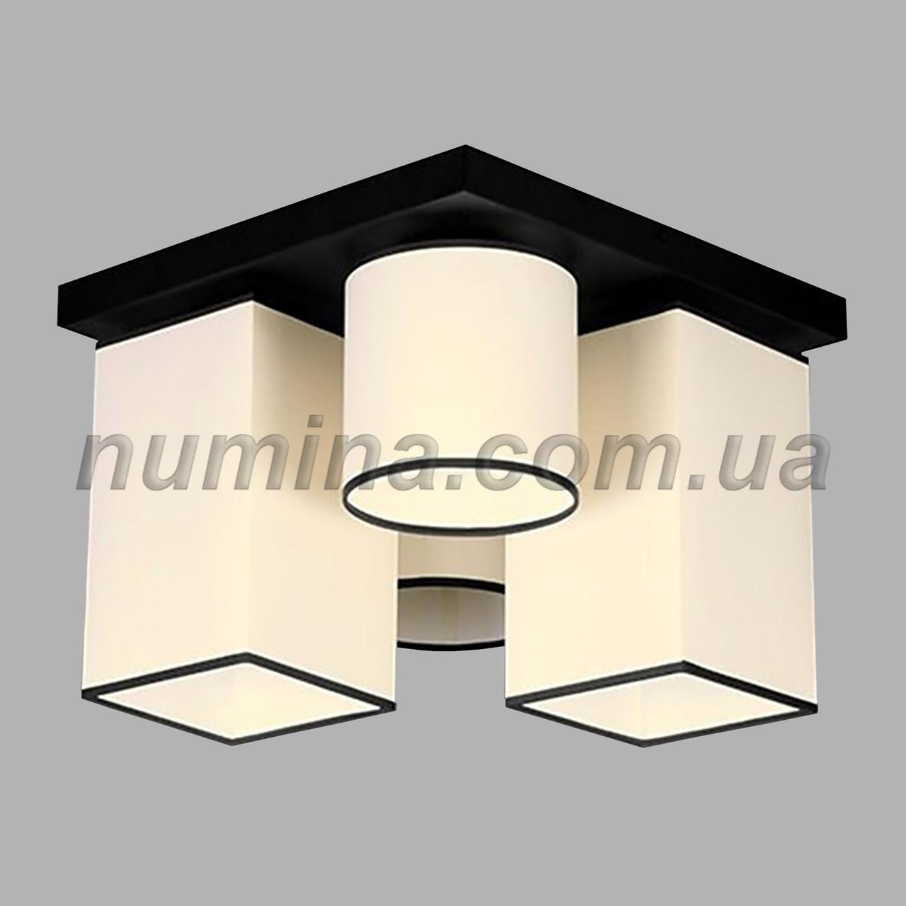 Люстра потолочная на 4 лампы 29-H178/4B BK+MIX