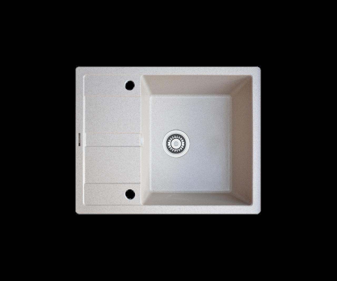 Кухонна мийка гранітна Borgio PRC-650x500 мигдаль