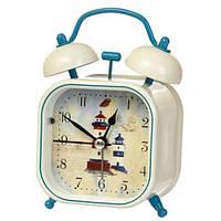 """Часы-будильник """"Морской круиз"""" (10*7*5 см) *рандомный выбор дизайна, 008AK"""
