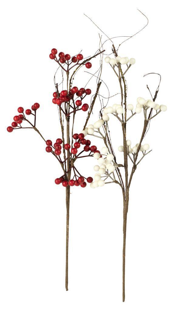 Штучні рослини (калина) ст. 48см асс. декор
