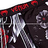 Компрессионные штаны Venum Samurai Skull Spats Black, фото 3