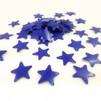 Аксесуари для свята конфеті Конфеті фігурне зірочки синя 100 грам