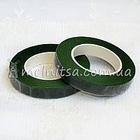 Флористическая тейп-лента, 1,2 см, зеленый