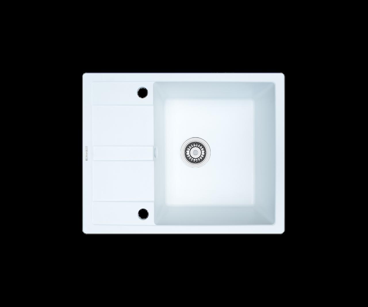 Кухонна мийка гранітна Borgio PRC-650x500 білий