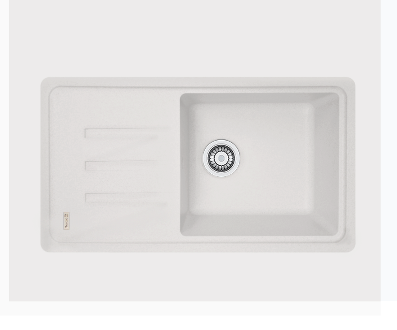 Кухонна мийка гранітна Borgio PRC-780х435  перлистий