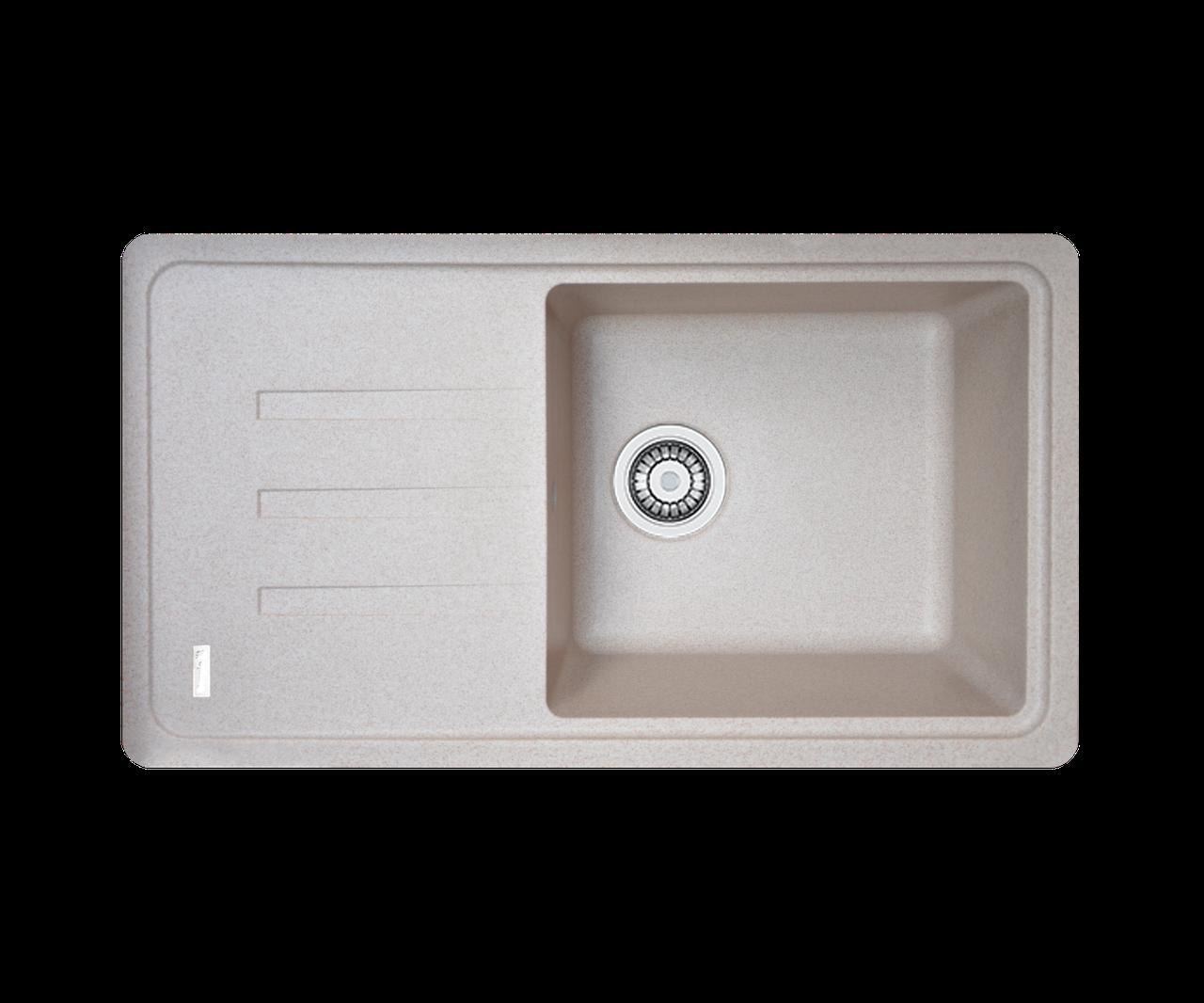 Кухонна мийка гранітна Borgio PRC-780х435 піщаний