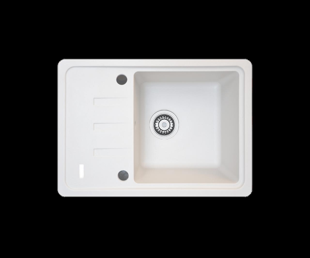 Кухонна мийка гранітна Borgio PRC-620х435  перлистий