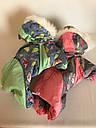 Комбінезон хутро 25 см разм 0 Парасолька рожевий  для собак, фото 6