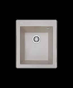 Кухонна мийка гранітна Borgio Q-410x500 піщаний