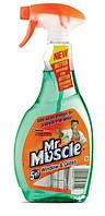 Жидкость для мытья стёкл с распылителем 500мл. Мистер Мускул