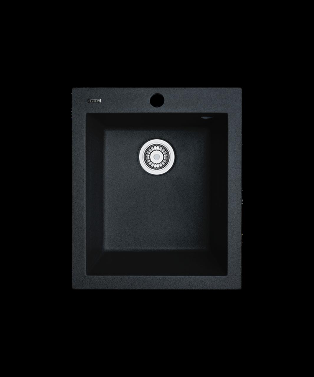 Кухонна мийка гранітна Borgio Q-410x500 чорний