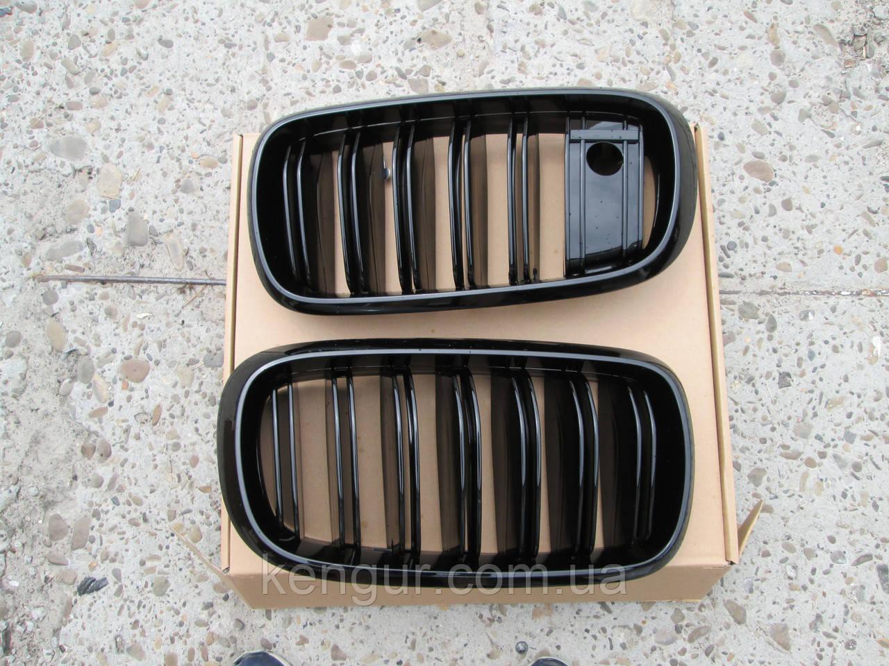 Решетка радиатора BMW X5 F15 под камеру