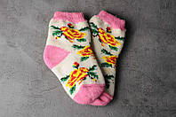 Шерстяные носки подростковые, 14-18 см, фото 1