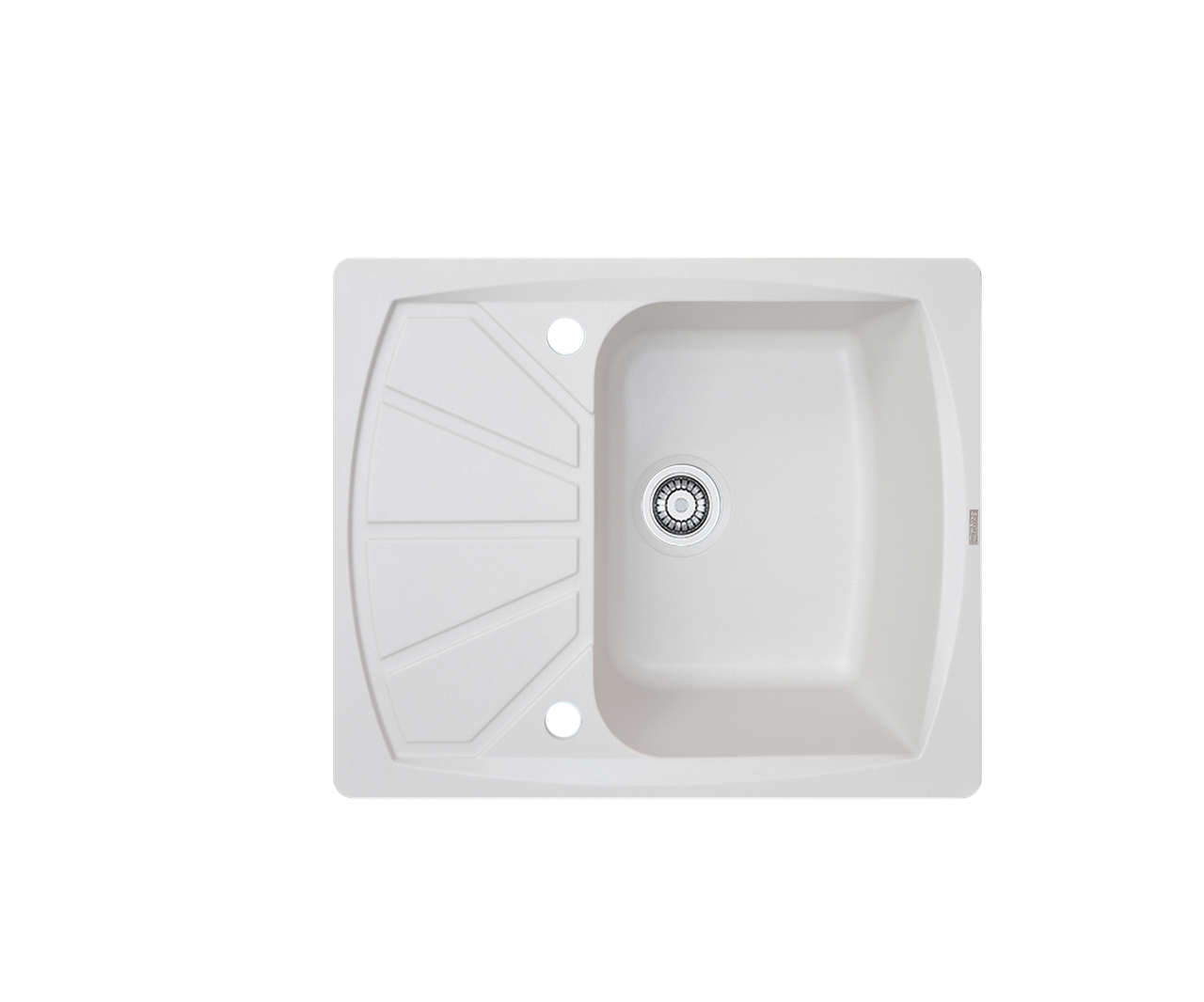 Кухонна мийка гранітна Borgio PRT-610x500  перлистий