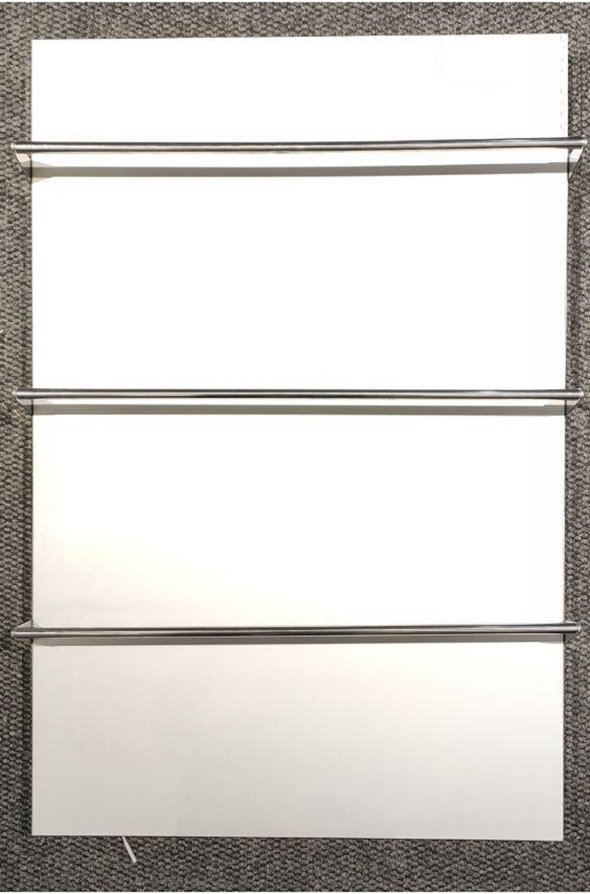 Керамічна рушникосушка TEPLOCERAMIC ТСМТ-RA 600 біла, (керамический полотенцесушитель)
