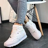 Ботинки женские (кроссовки белые)