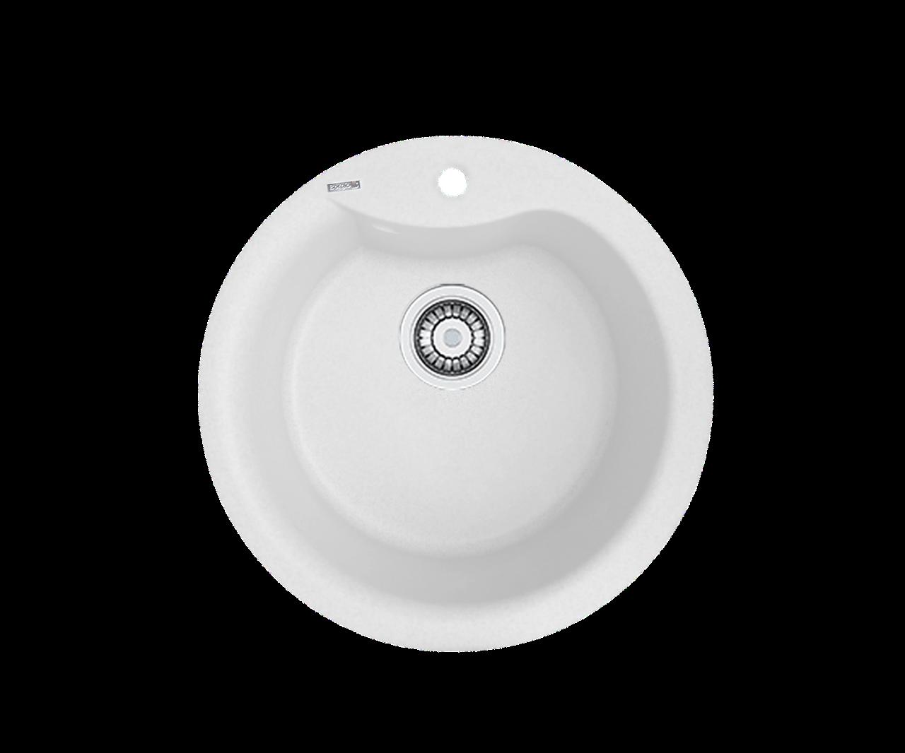 Кухонна мийка гранітна Borgio ROC-490  перлистий