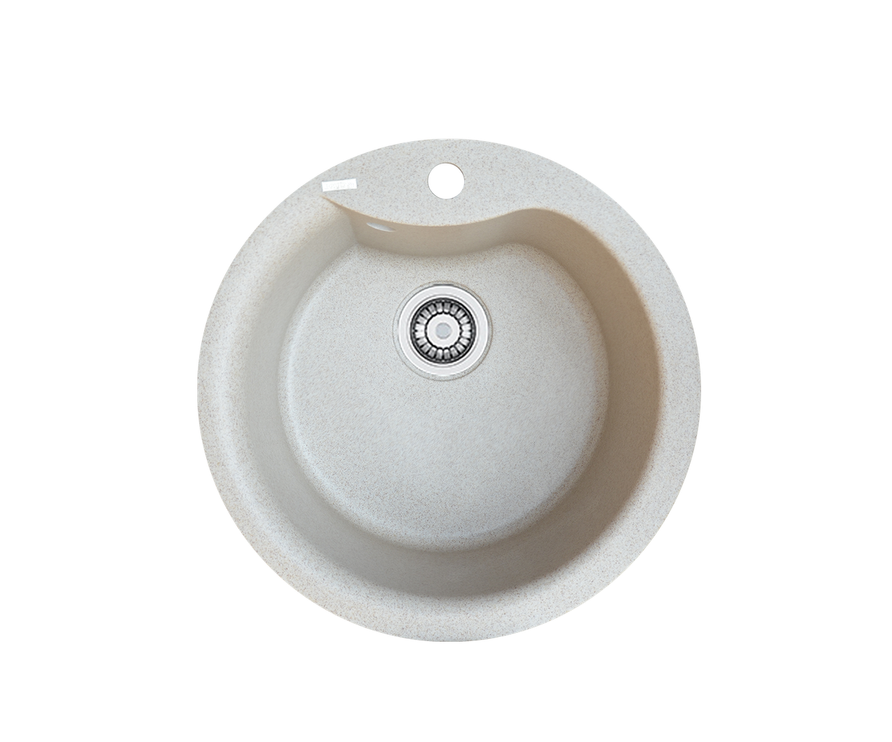 Кухонна мийка гранітна Borgio ROC-490 піщаний