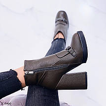 Зеленые ботинки женские, фото 2