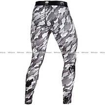 Компрессионные штаны Venum Tecmo Spats Grey, фото 3