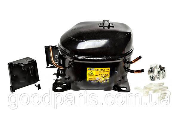 Компрессор для холодильника ACC HXK12AA R600a 200W Whirlpool 480132101558, фото 2