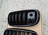 Решетка радиатора BMW X6 F16 под камеру, фото 2