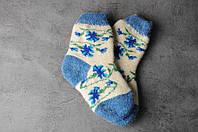 Шерстяные носки детские, зимние детские носочки, 16-19 см, фото 1