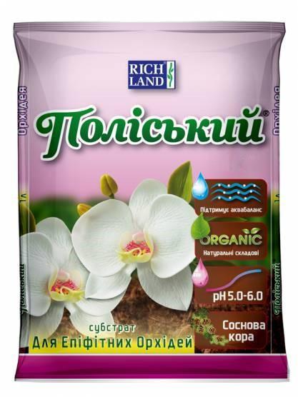 Субстрат для эпифитных орхидей,  Rich Land 5 литров