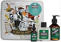 Набір подарунковий для догляду за бородою з 3-х предметів Proraso Beard Kit Refresh, 400693