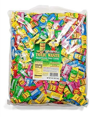 Конфеты Toxic Waste Sour Candy Mix 3 kg