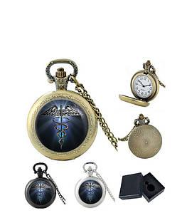 Карманные часы Кадуцей