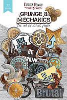 """Набор высечек, коллекция """"grunge&mechanics"""", 77шт для хобби и творчества Фабрика Декора"""