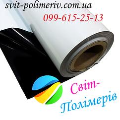 Черно белая пленка для курьерских пакетов Полурукав 350-2550 мм