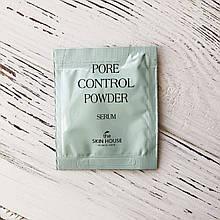 Пробник Сыворотка для сужения пор The Skin House PORE CONTROL POWDER SERUM, 2 мл