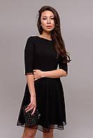 """""""Диана"""" платье (черный), фото 1"""