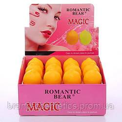 Бальзам для губ Romantic Bear magic Лимон ( поштучно )